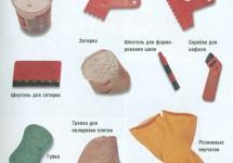 Клеи и затирки для плитки