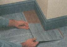 Другие виды напольной плитки
