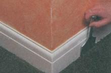 Укладка тканого ковра
