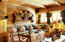 Кантри стиль в интерьере квартиры