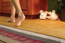 Создание теплого пола в квартире