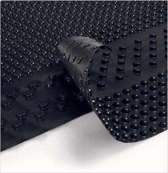 Гидроизоляция поверхностей, контактирующих с грунтом