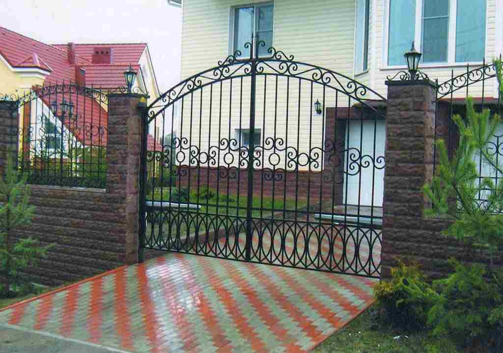 Где можно узнать про кованые ворота или кованые калитки?