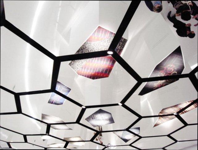 Легкие подвесные потолки