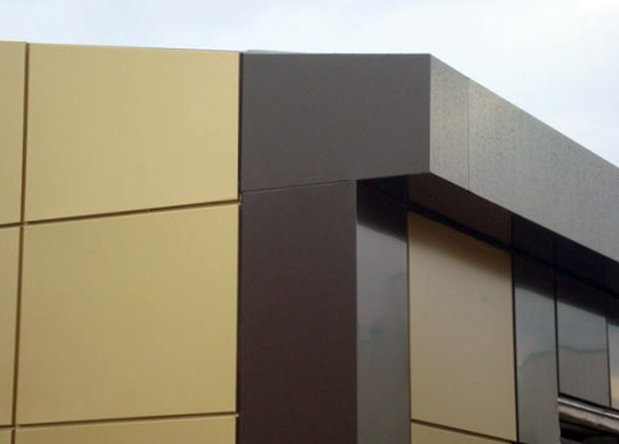 Фасады из керамогранита