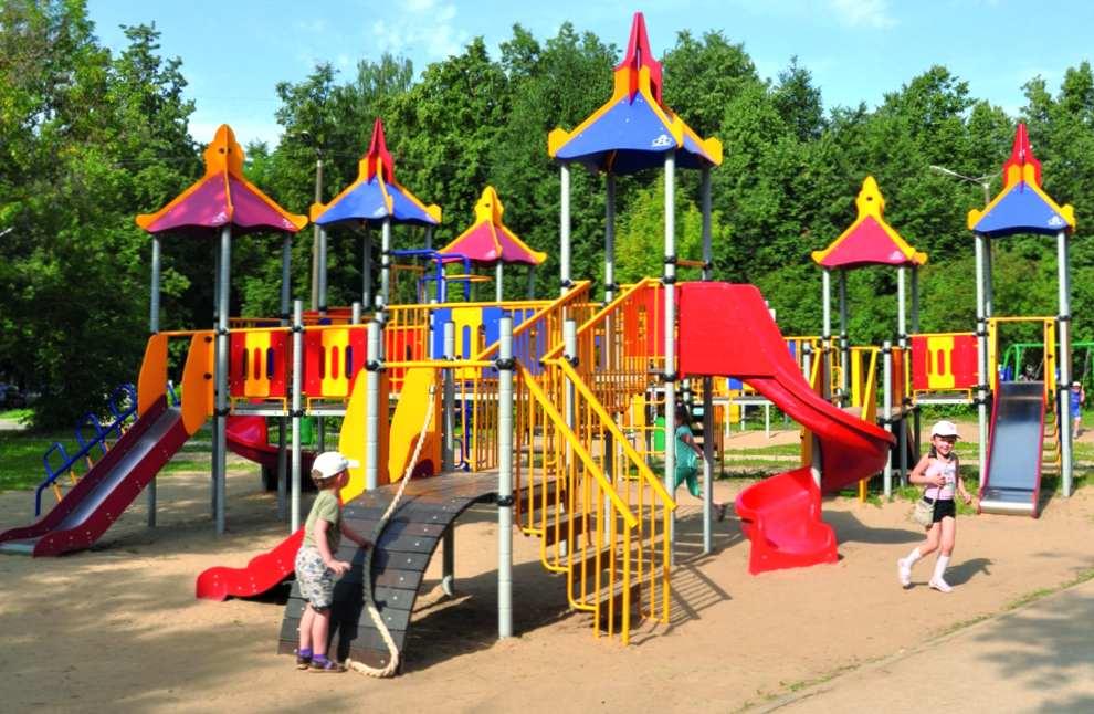 Где заказать оборудование для детских площадок?