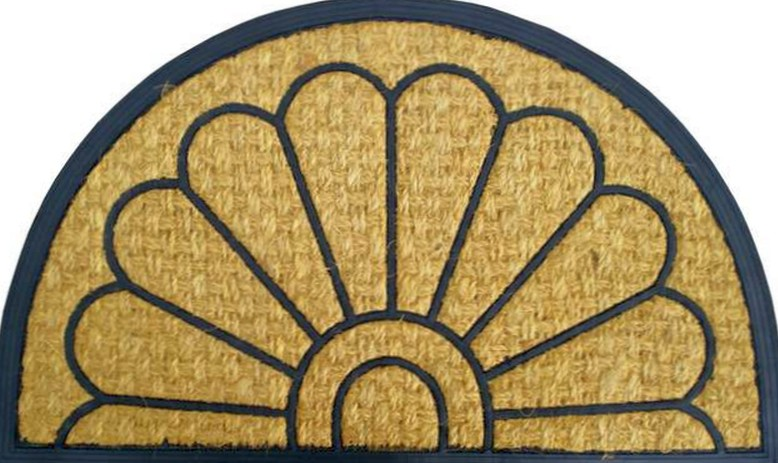Грязезащитные бытовые коврики с кокосовой щетиной