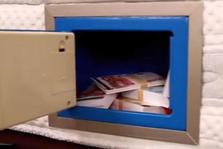 Зачем нужен встроенный сейф?