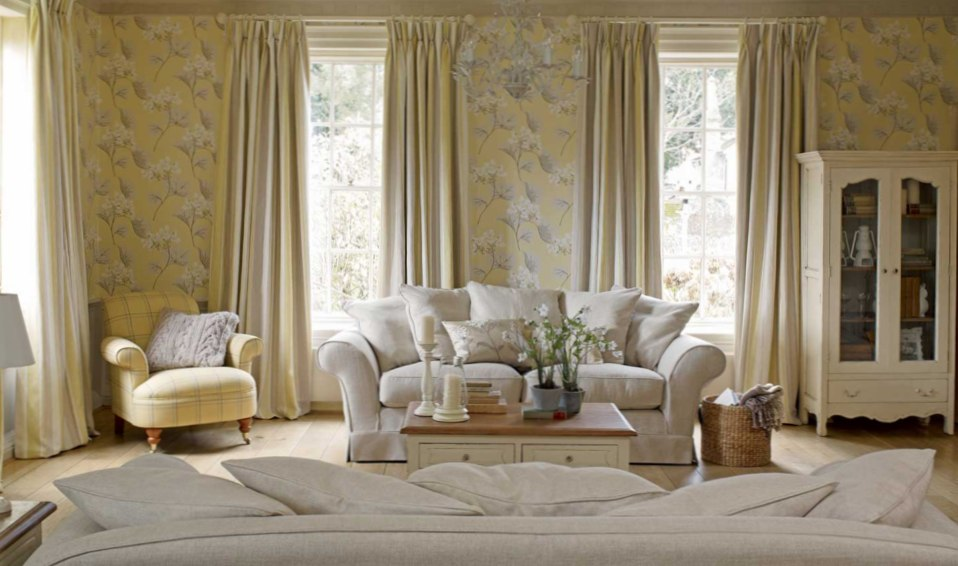 Где можно заказать готовые шторы и гардины для интерьера в прованском стиле?