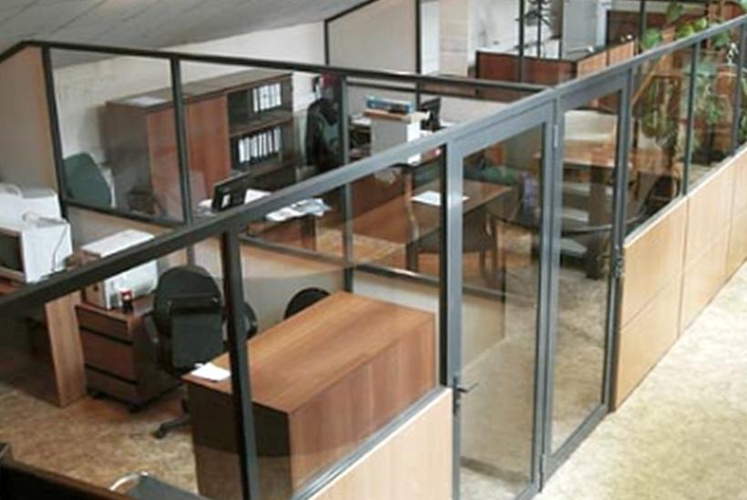 Офисные перегородки в Казани