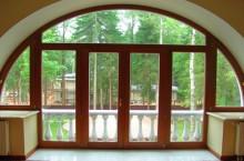 Что такое арочные окна ПВХ?