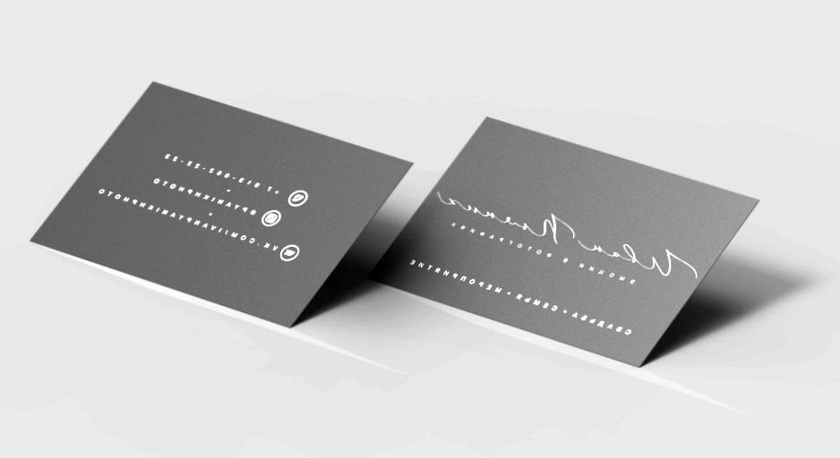 Из чего изготавливаются образцы визиток?