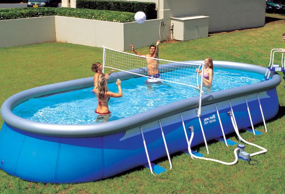 Что входит в набор оборудования для бассейнов?
