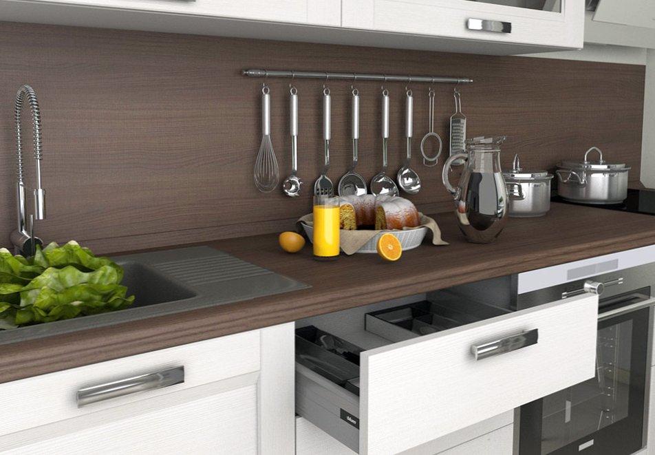 Из какого материала изготавливают столешницы для кухни grandex?